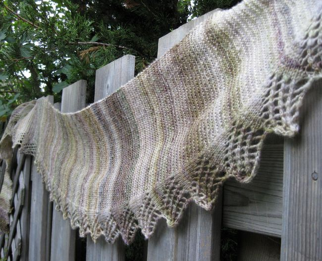 Laburnum Road Scarf knitting pattern