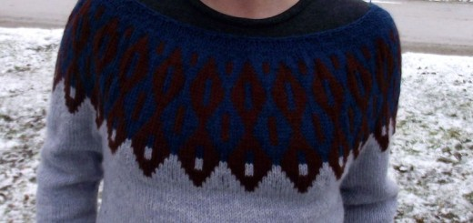 Firewing Pullover knitting pattern