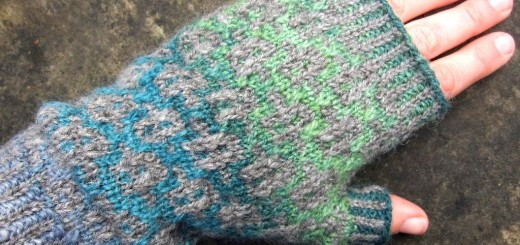 Fjord Mitts knitting pattern