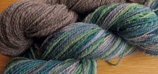 Fjord Mitts : Spin the yarn