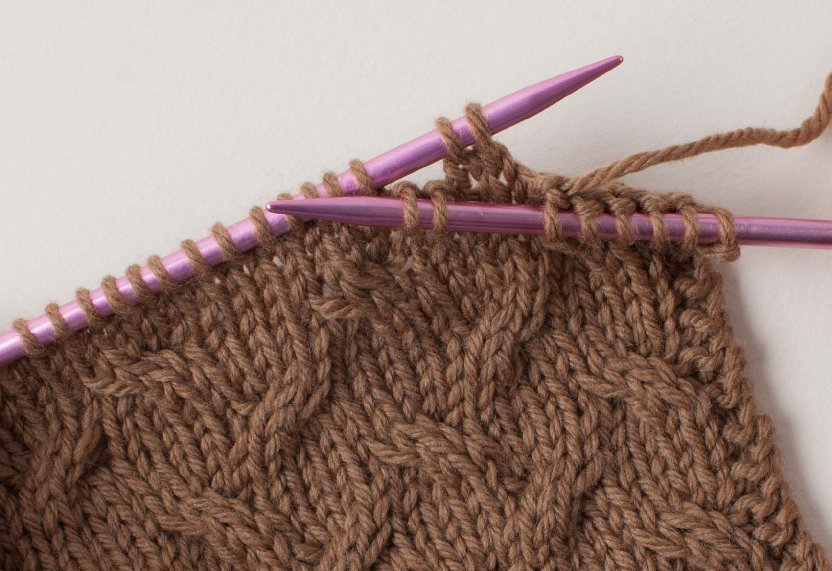 Knitting Cable Stitches Without Cable Needle : Knit Tech : Cable Knitting Without a Cable Needle - Ennea Collective - crafti...