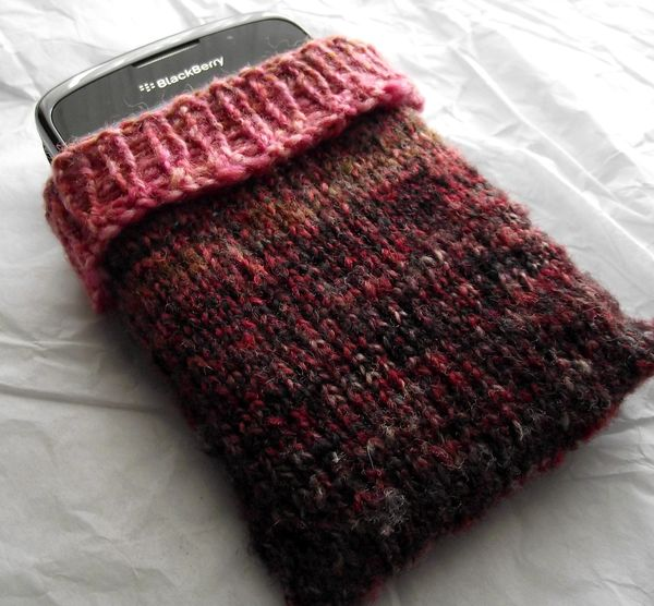 Another Phone Cozy knitting pattern