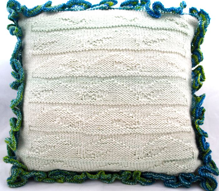 Cancale Pillow knitting pattern