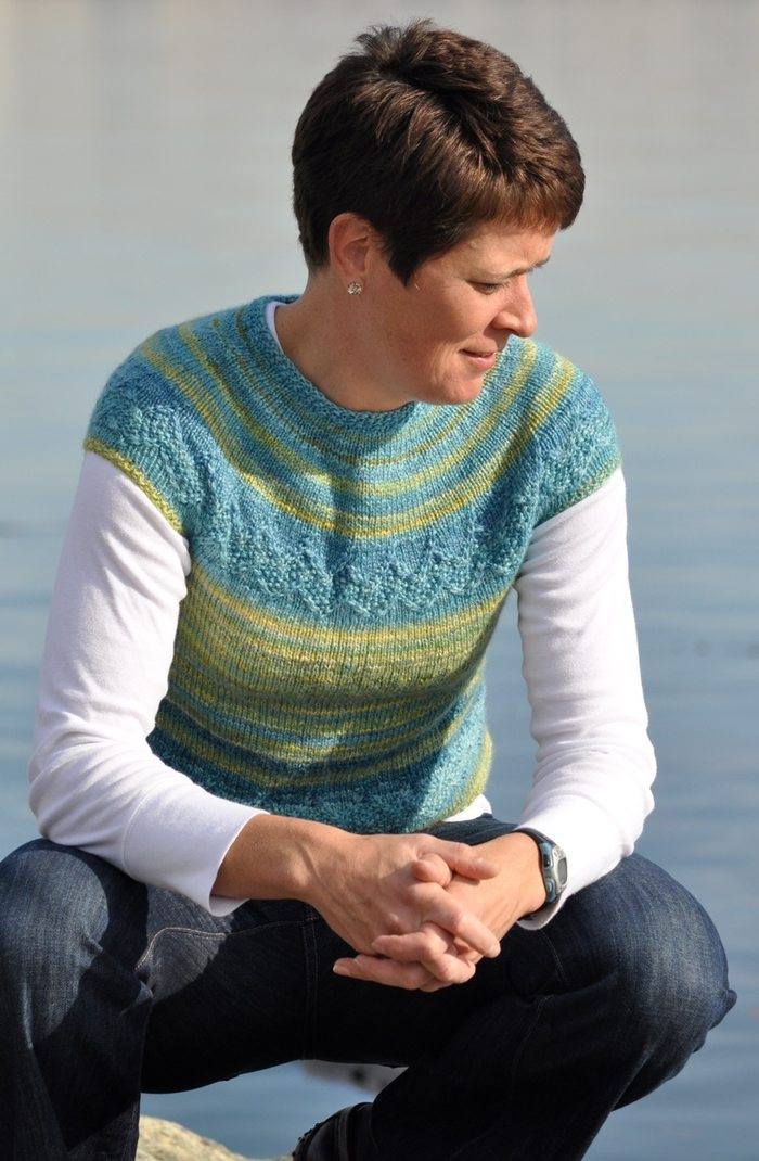 Caledonia Tee Knitting Pattern