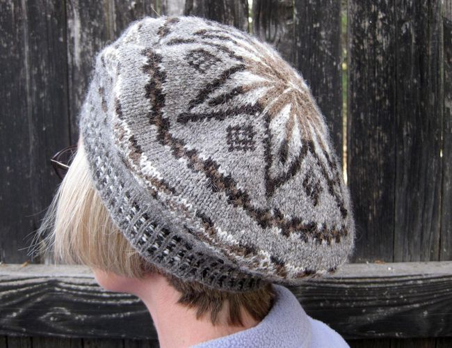 Ballycastle Tam knitting pattern