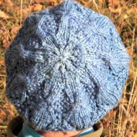 diamond dust tam knitting pattern