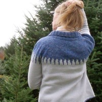 Icicles Cardigan knitting pattern