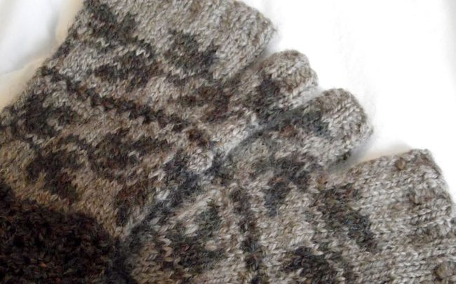 foehn mitts knitting pattern
