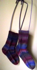 a recipe for socks in all sizes knitting pattern