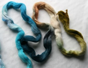 spinning a gradient yarn